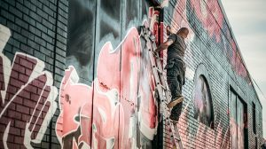 graffiti removal Welshpool