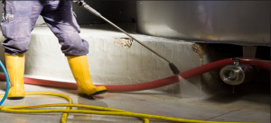 concrete cleaning Salt Ash
