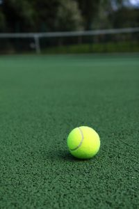 tennis court pressure cleaning Flynn